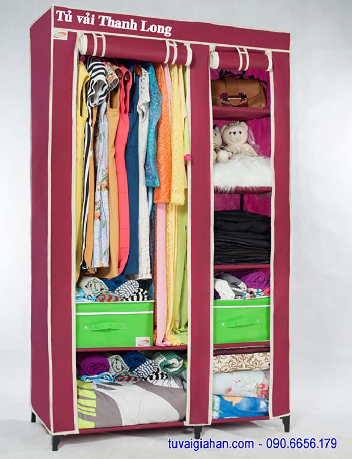 Hướng dẫn lắp ráp tủ vải Thanh Long TVAI01