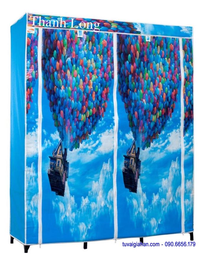 Hướng dẫn lắp ráp tủ vải Thanh Long TVAI14