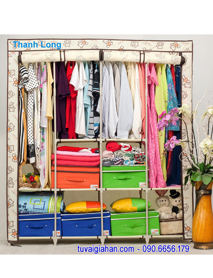 Hướng dẫn lắp ráp tủ vải Thanh Long TVAI15
